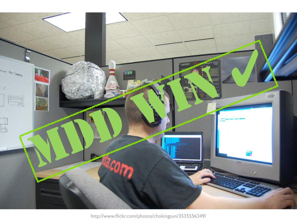 MDD WIN ✔ http://www.flickr.com/photos/chokingsu...