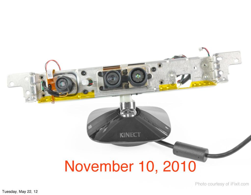 November 10, 2010 Photo courtesy of iFixit.com ...