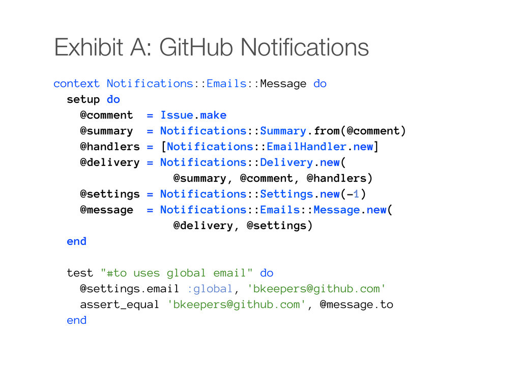 Exhibit A: GitHub Notifications context Notifica...