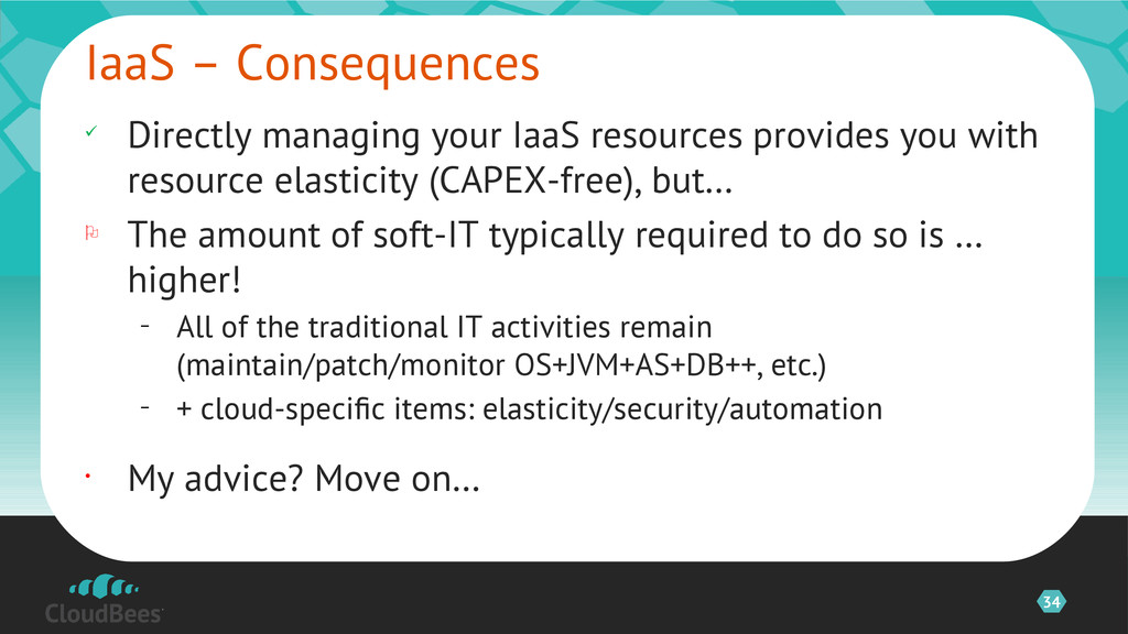 34 ü Directly managing your IaaS resources prov...