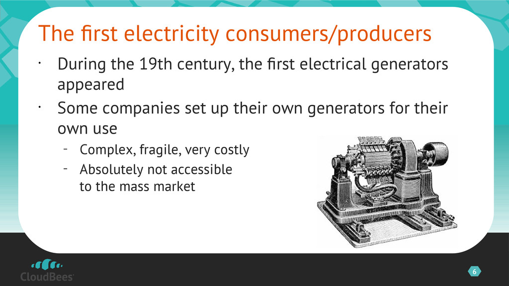 6 • During the 19th century, the frst electrica...