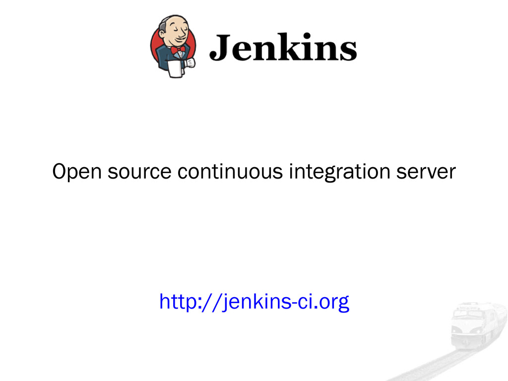 Open source continuous integration server http:...