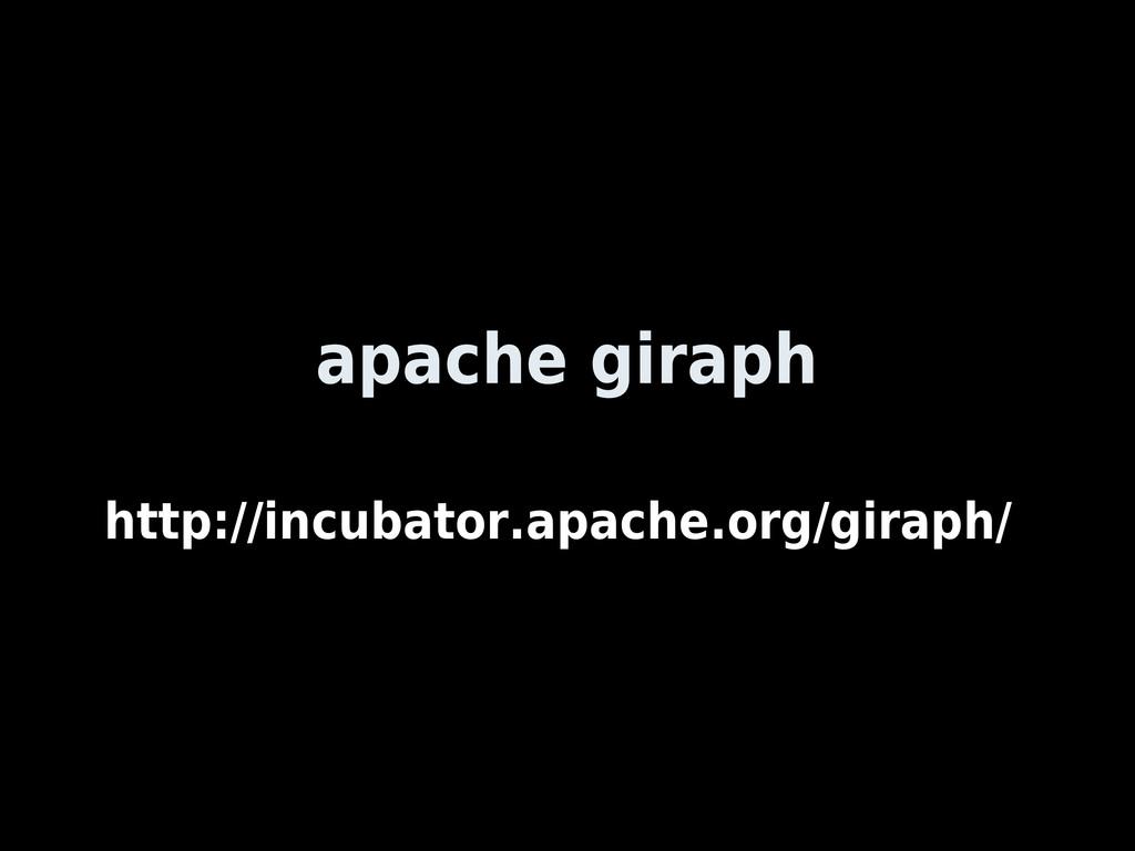 apache giraph http://incubator.apache.org/girap...