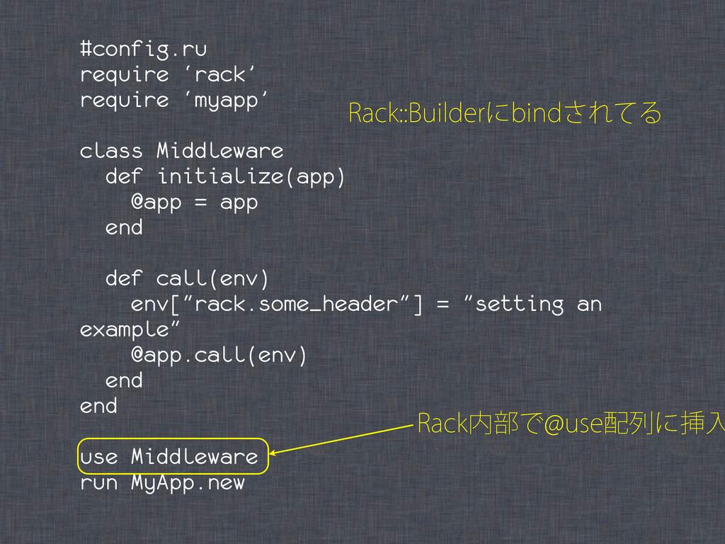 #config.ru require 'rack' require 'myapp' class...