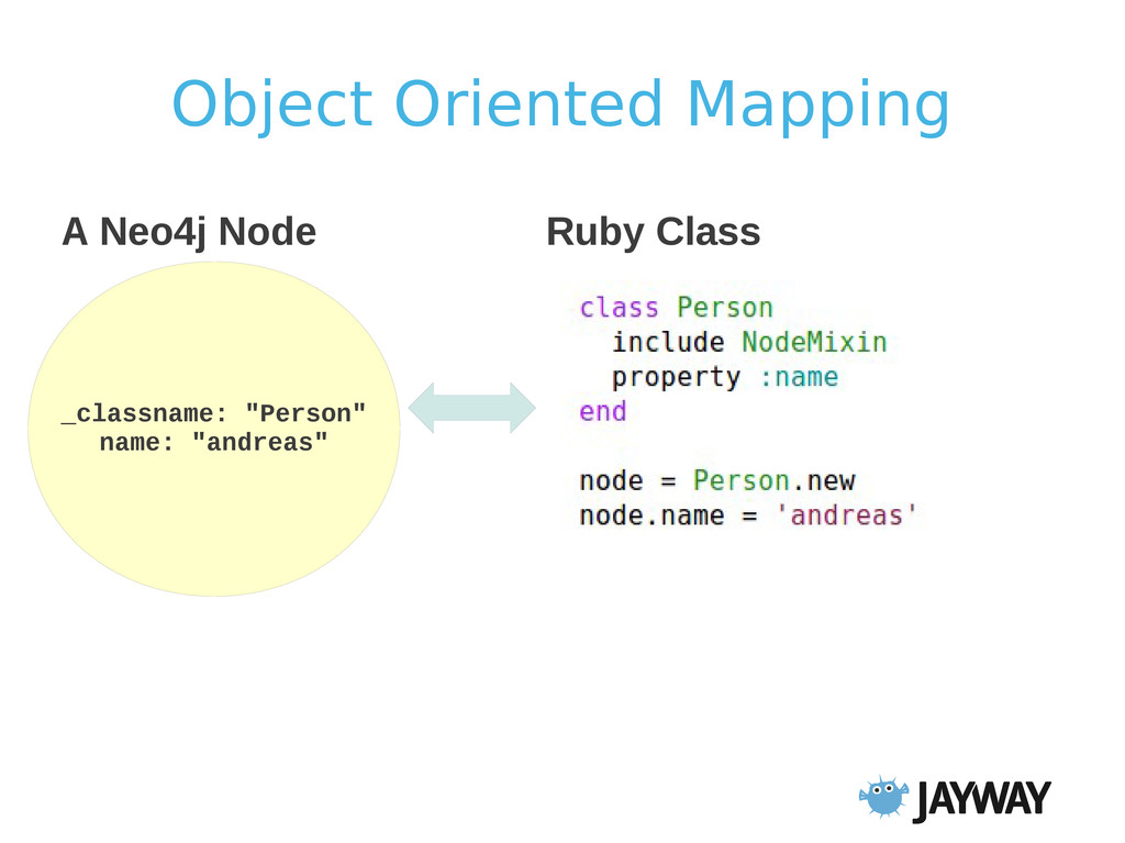 "Object Oriented Mapping _classname: ""Person"" na..."