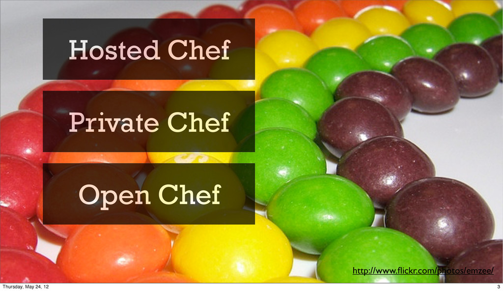 http://www.flickr.com/photos/emzee/ Hosted Chef ...