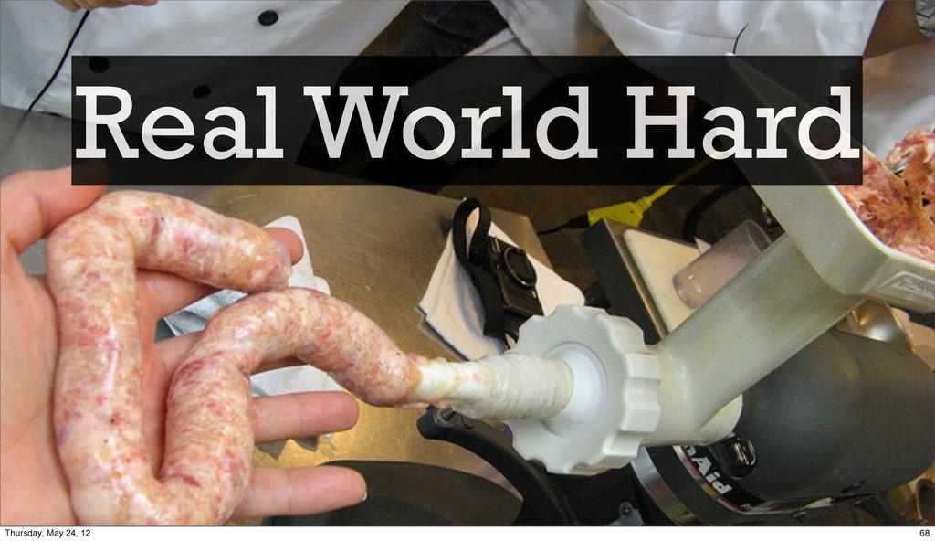Real World Hard 68 Thursday, May 24, 12