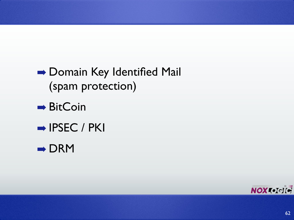 ➡ Domain Key Identified Mail (spam protection) ➡...