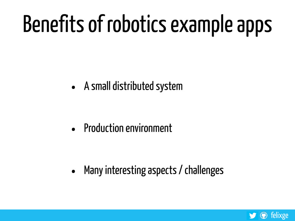 @felixge felixge Benefits of robotics example a...