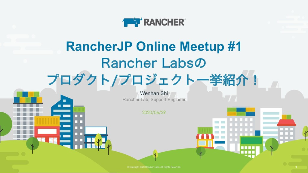 © Copyright 2019 Rancher Labs. All Rights Reser...