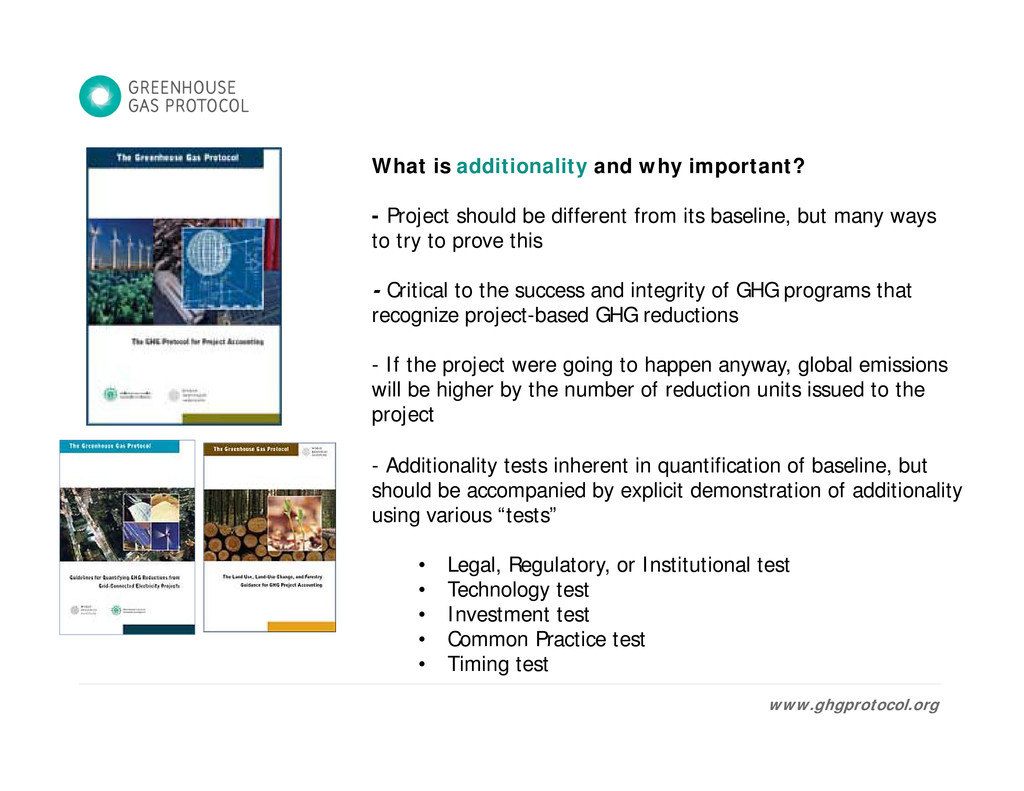 What is additionality and why important? - Proj...