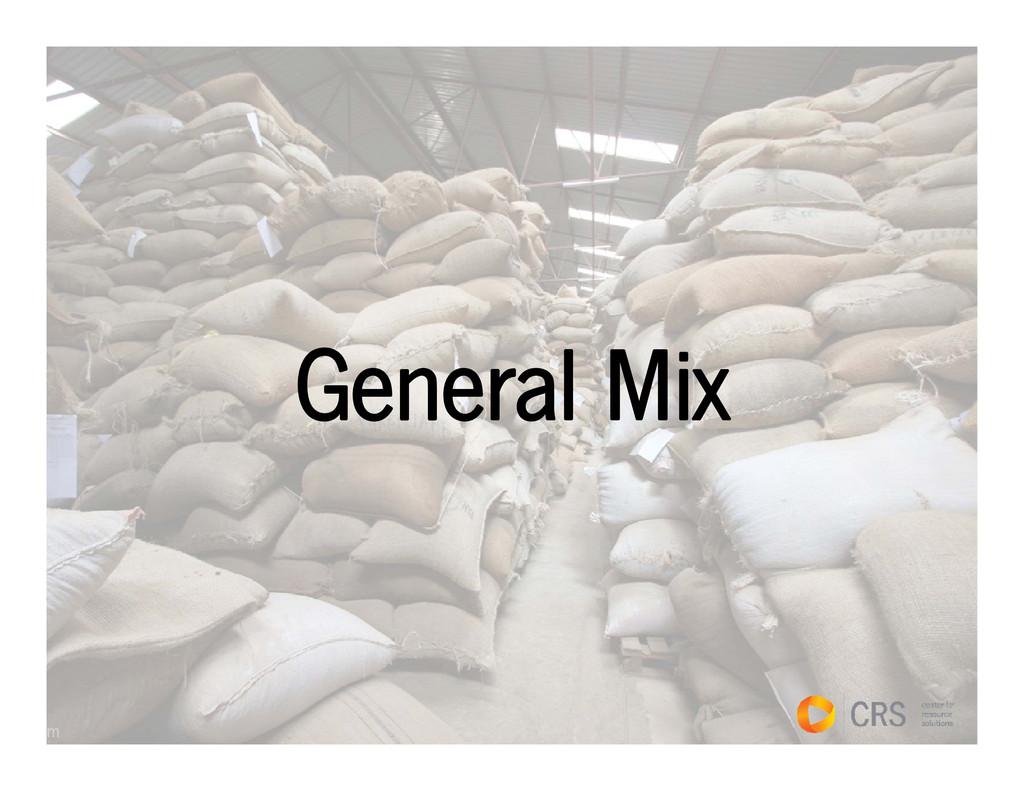General Mix