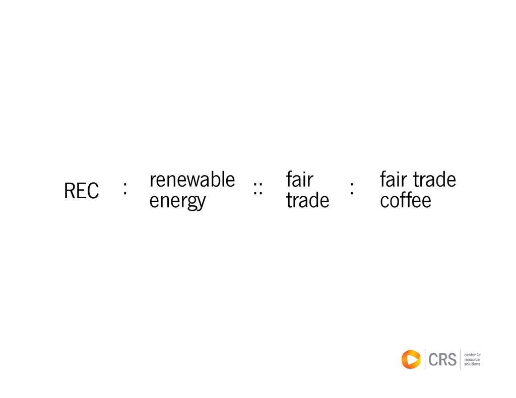 bl f i f i t d REC renewable energy fair trade ...