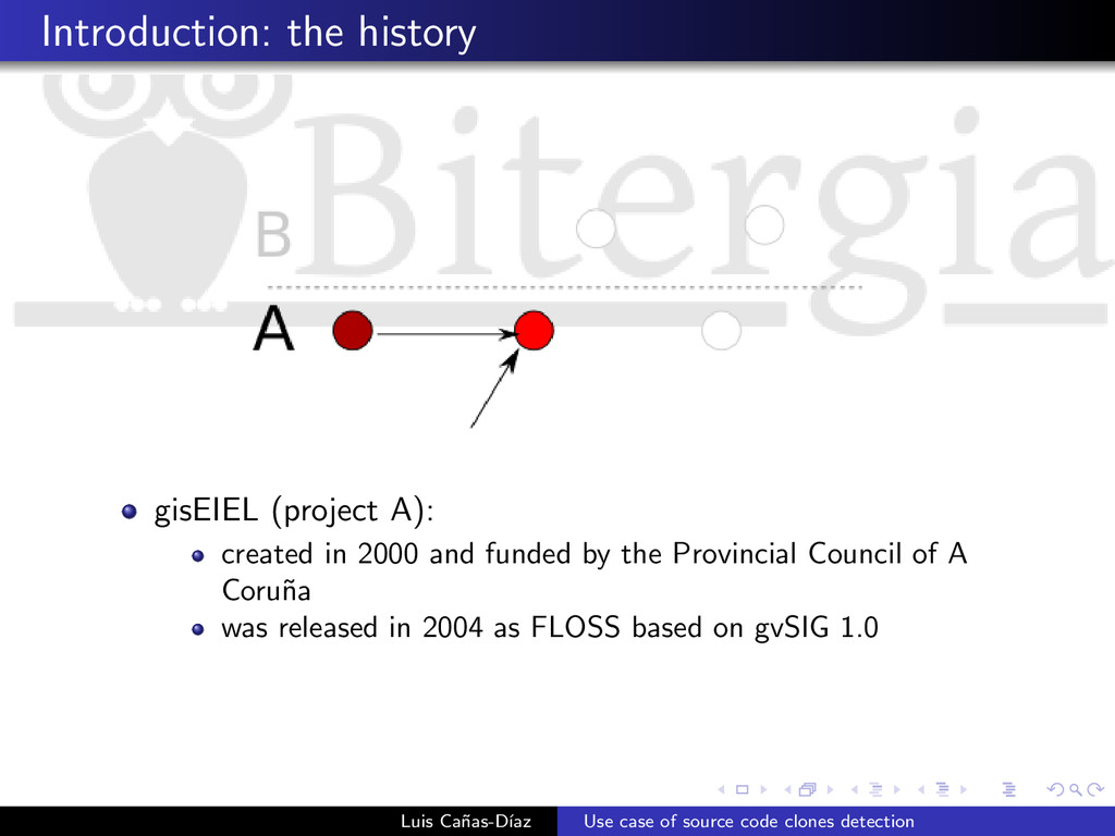 Introduction: the history gisEIEL (project A): ...