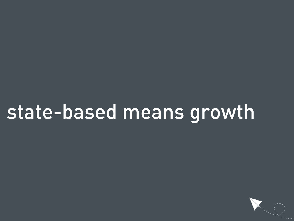state-based means growth