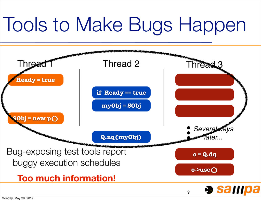 Tools to Make Bugs Happen 9 Ready = true if Rea...