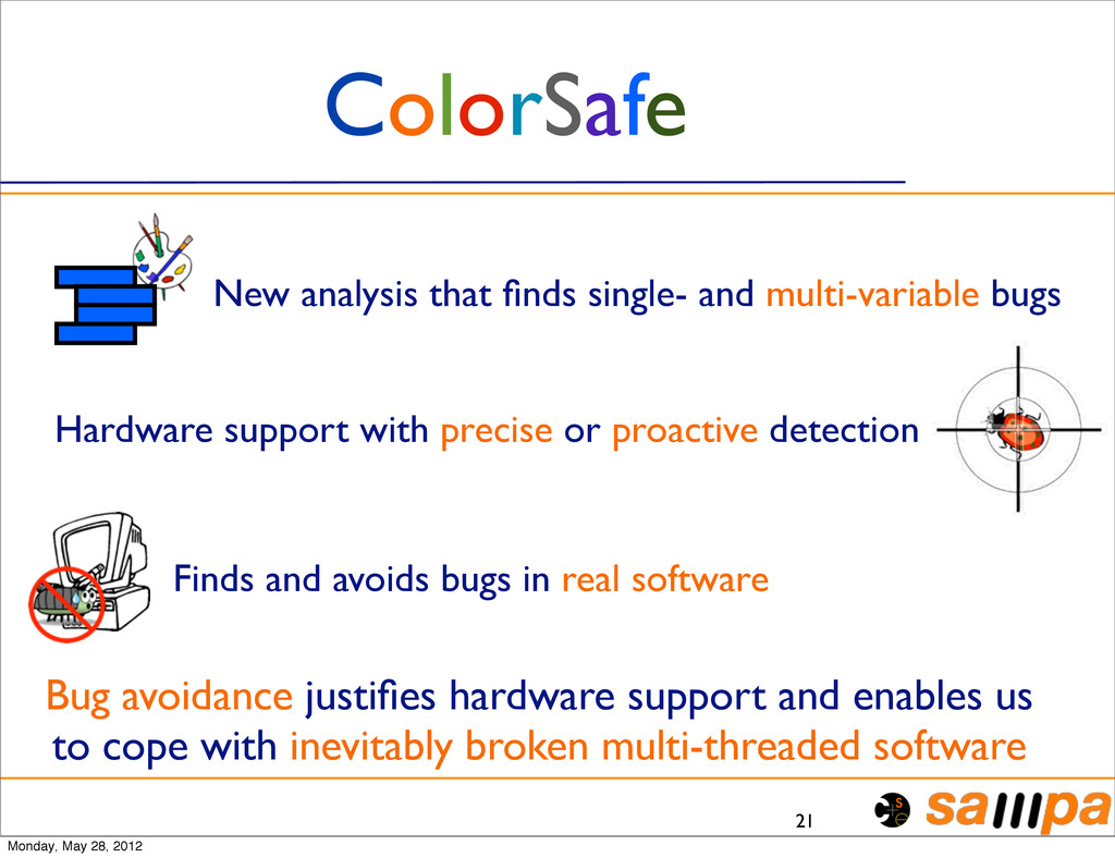 21 ColorSafe New analysis that finds single- and...