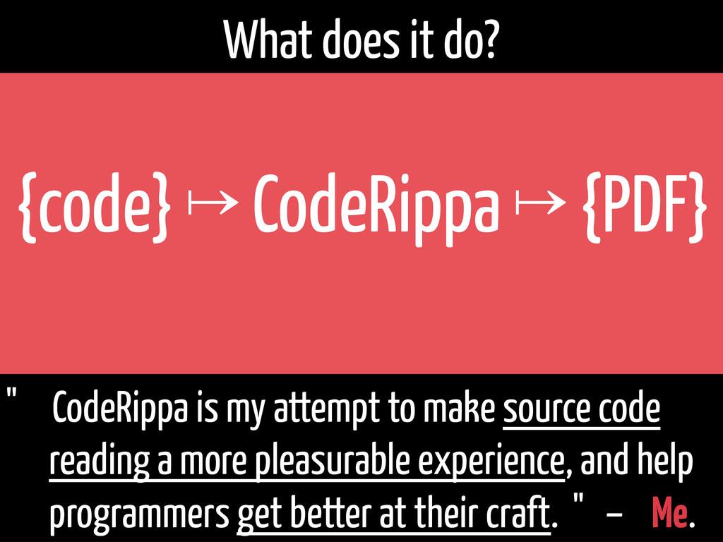 "{code} ↦ CodeRippa ↦ {PDF}   "" CodeRippa is ..."