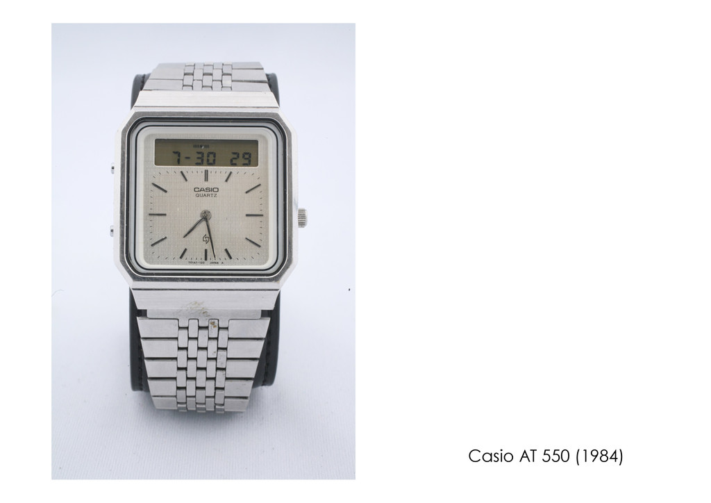 Casio AT 550 (1984)