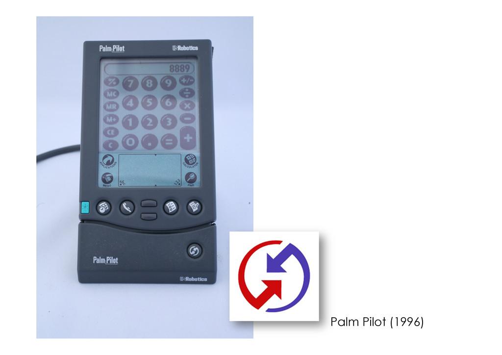 Palm Pilot (1996)