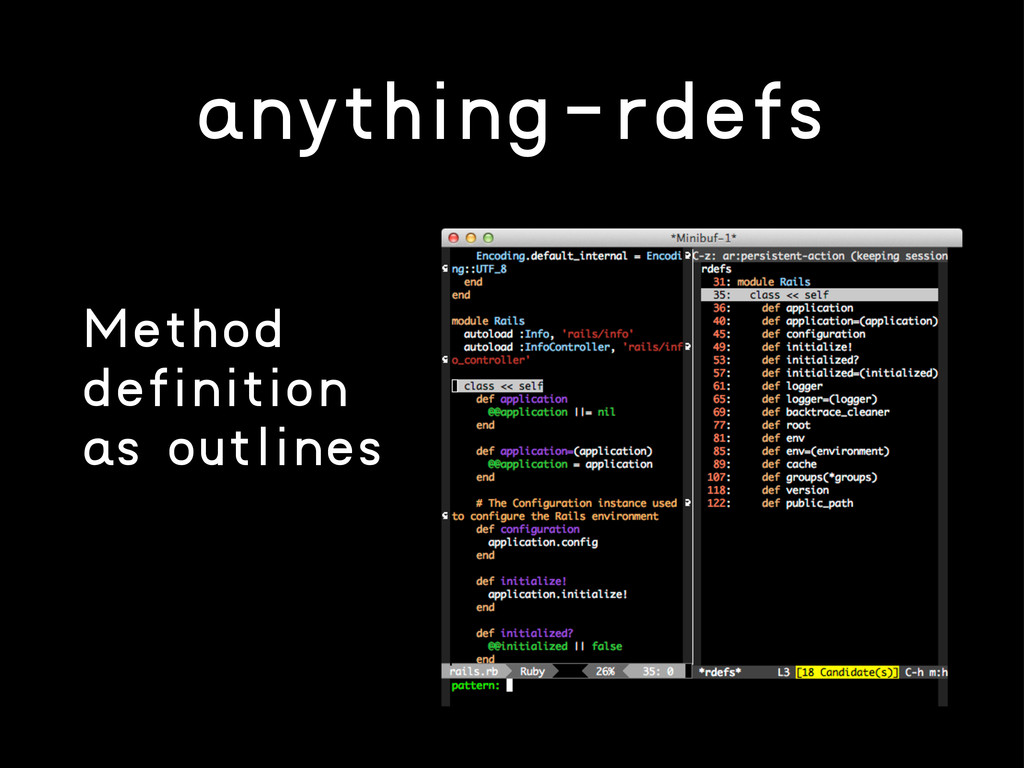 anything-rdefs Method definition as outlines