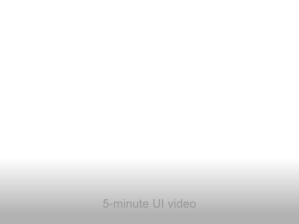 5-minute UI video