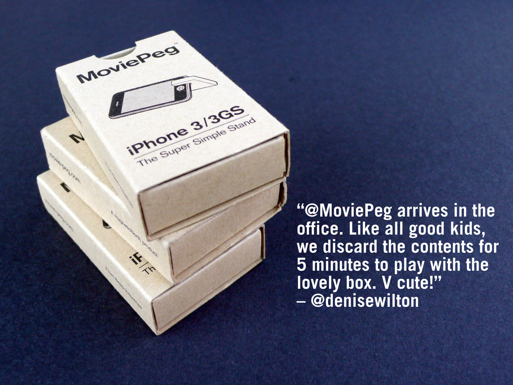 """""""@MoviePeg arrives in the office. Like all good..."""