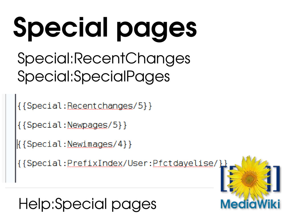 Special:RecentChanges Special:SpecialPages Spec...