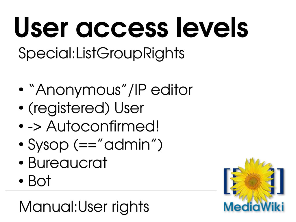 "Special:ListGroupRights ● ""Anonymous""/IP editor..."
