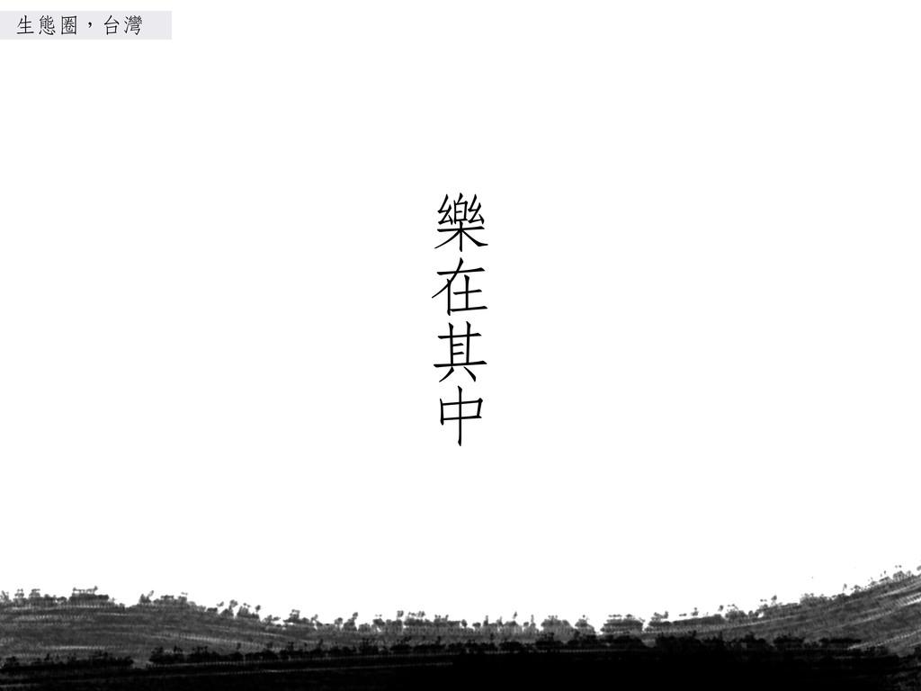 樂樂樂樂 在 其 ㆗㊥中 生態圈,台灣