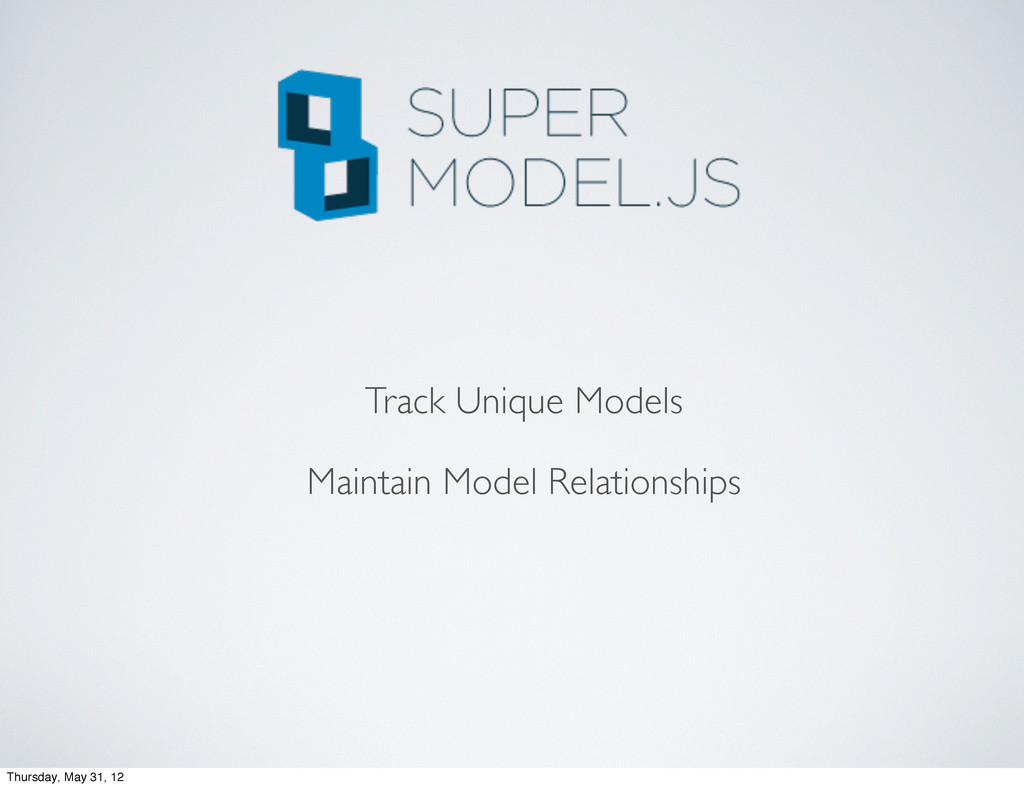 Track Unique Models Maintain Model Relationship...