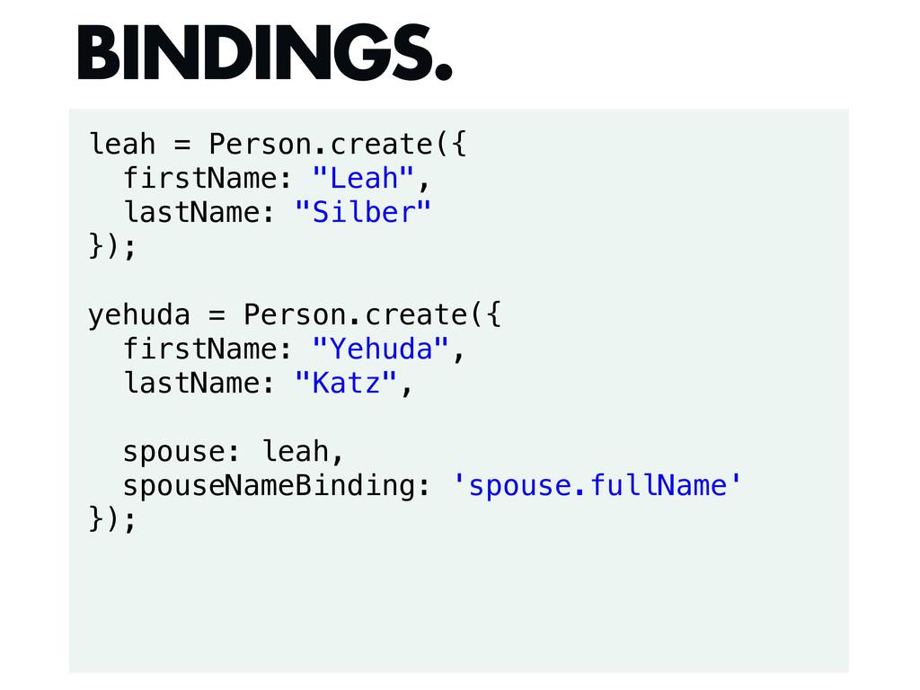 """leah = Person.create({ firstName: """"Leah"""", lastN..."""
