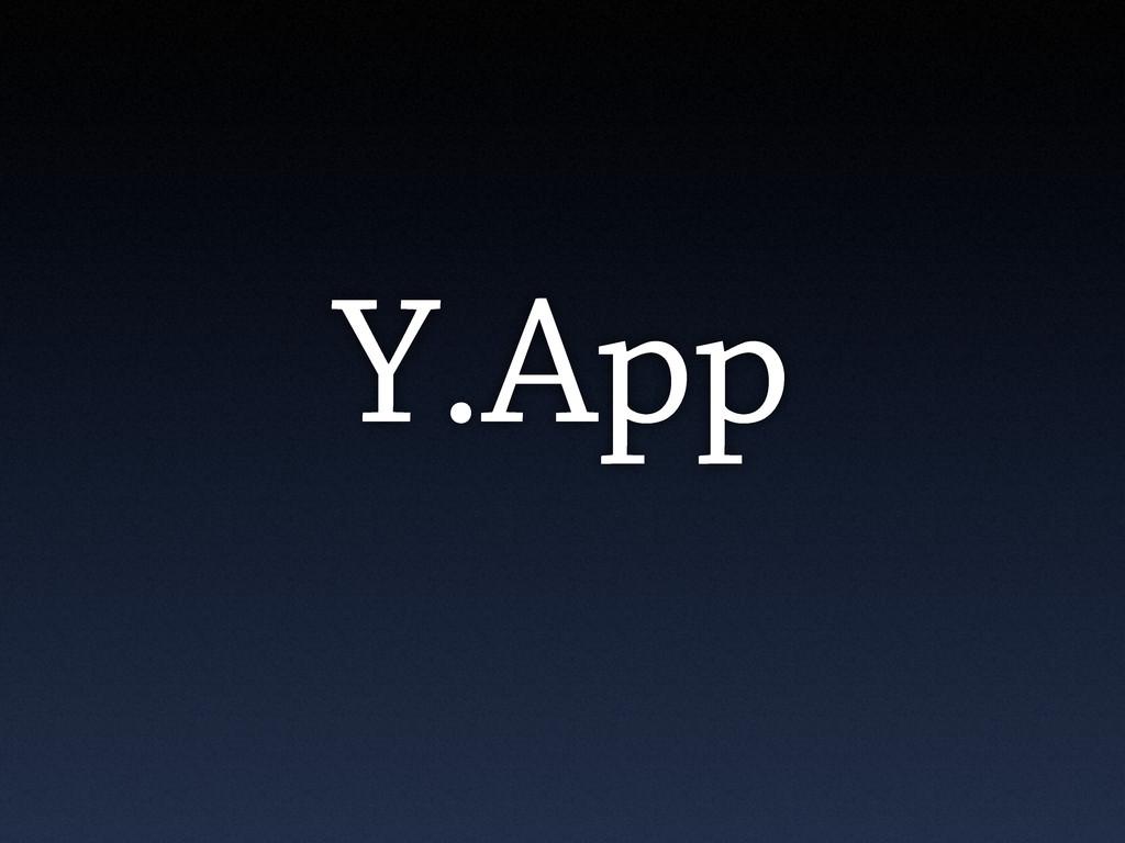 Y.App