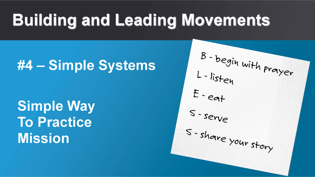 Building and Leading Movements Simple Way To Pr...