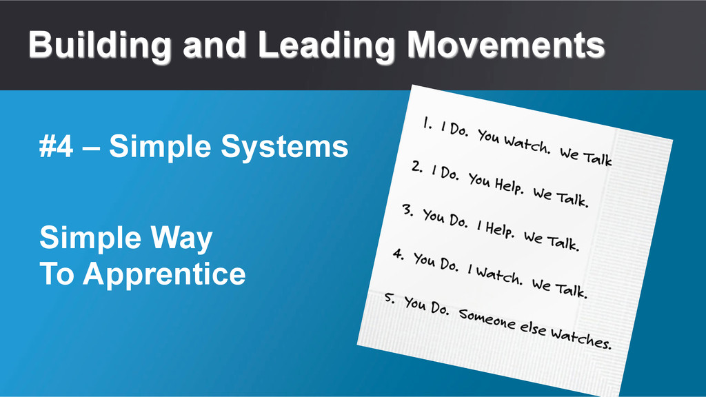 Building and Leading Movements Simple Way To Ap...