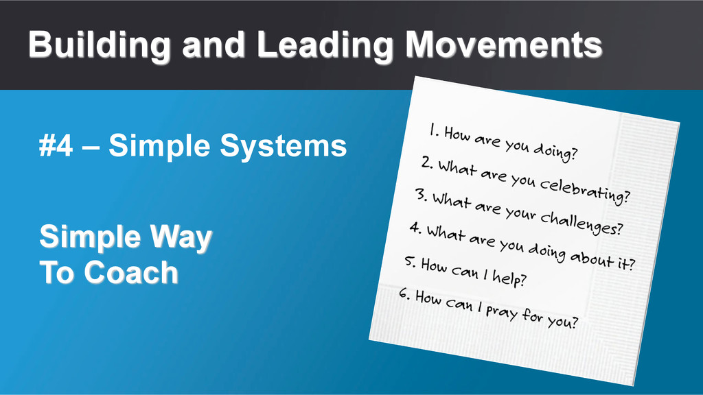 Building and Leading Movements Simple Way To Co...