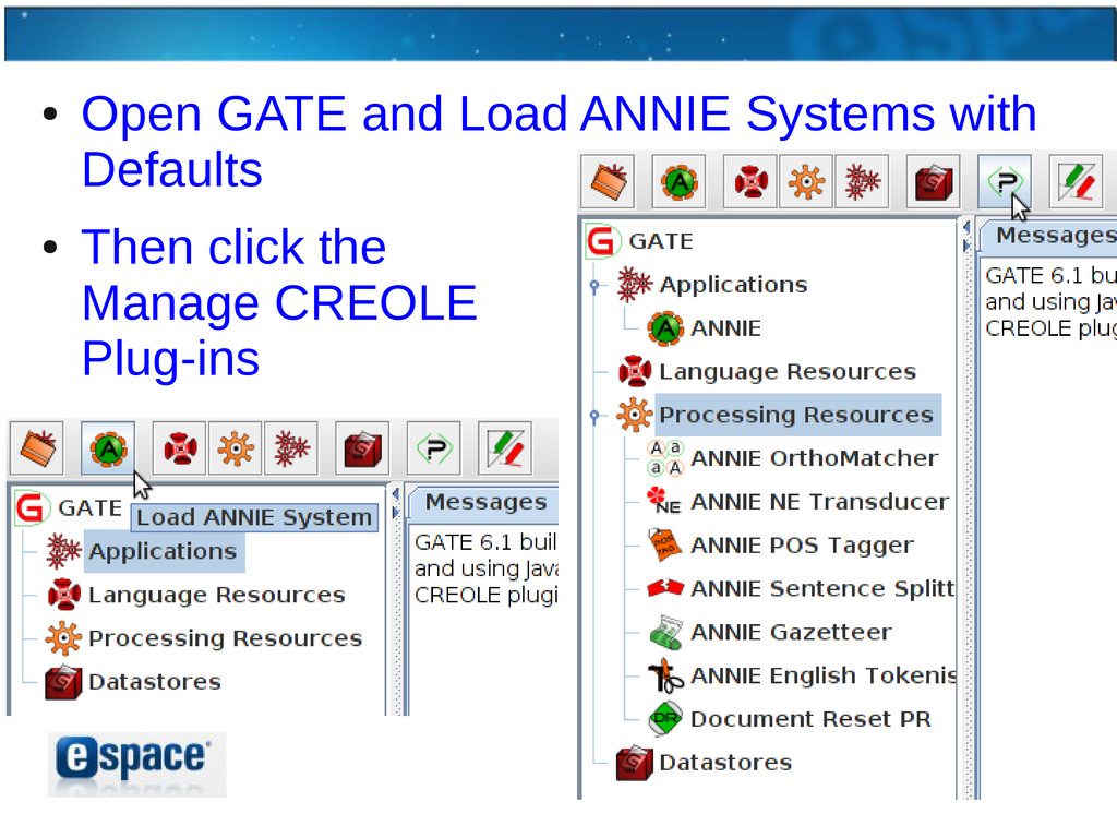 ● Open GATE and Load ANNIE Systems with Default...