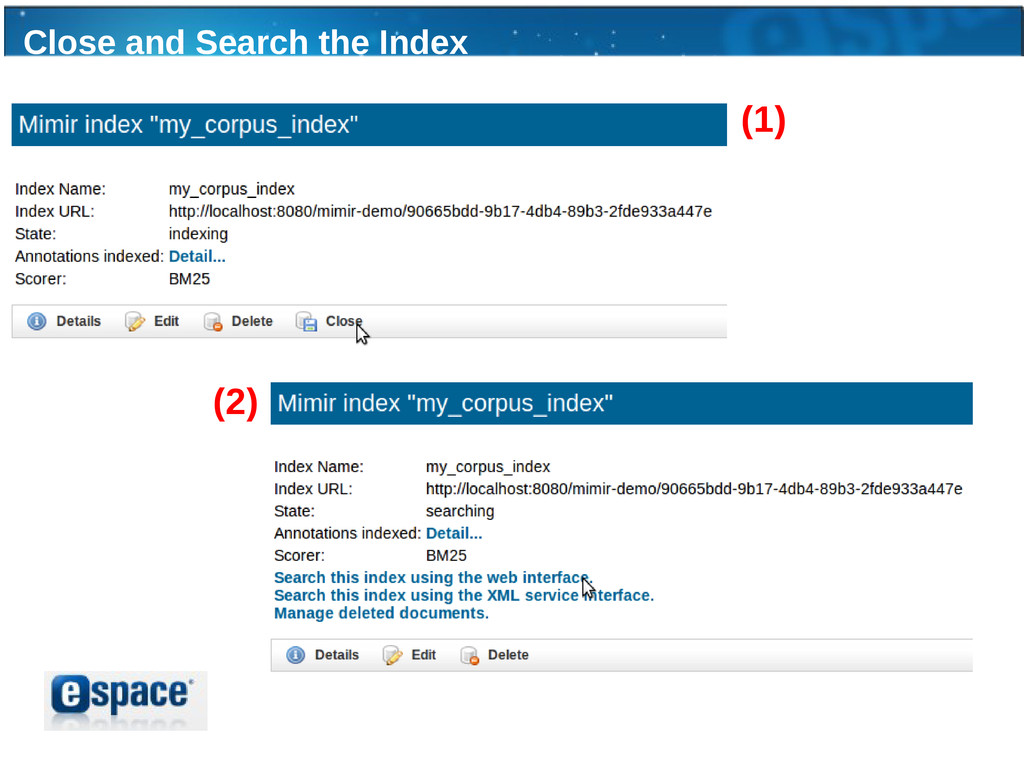 Close and Search the Index (1) (2)