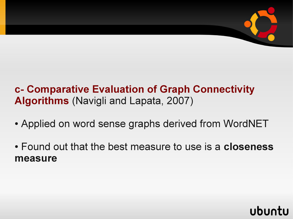 c- Comparative Evaluation of Graph Connectivity...
