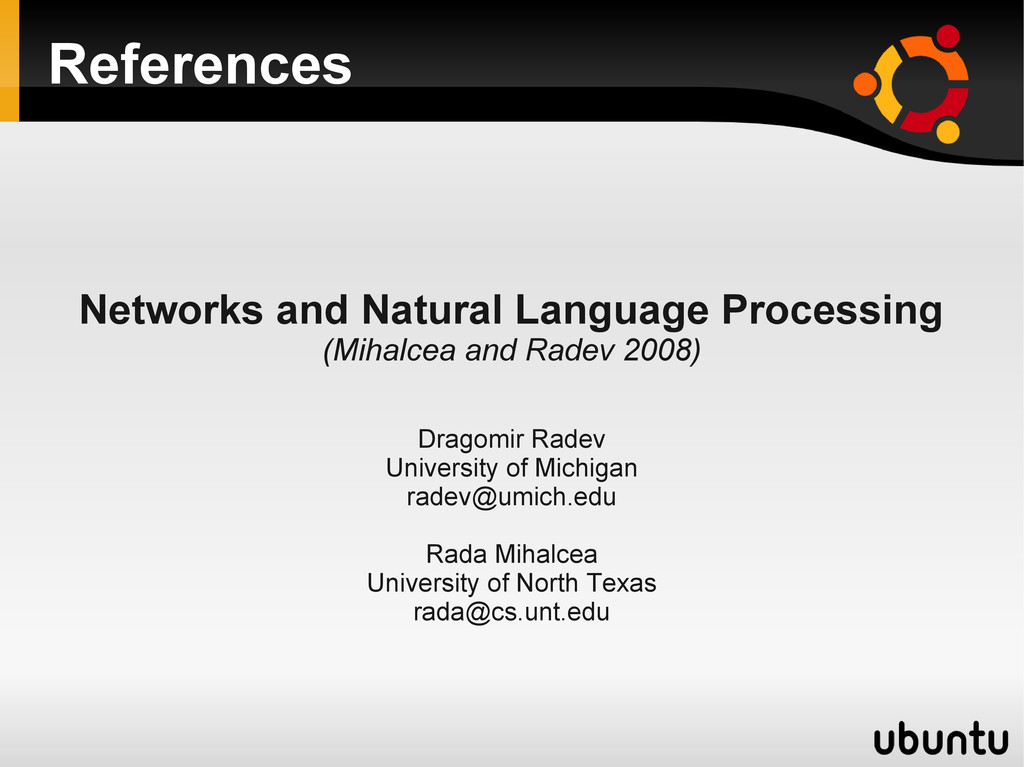 References Networks and Natural Language Proces...