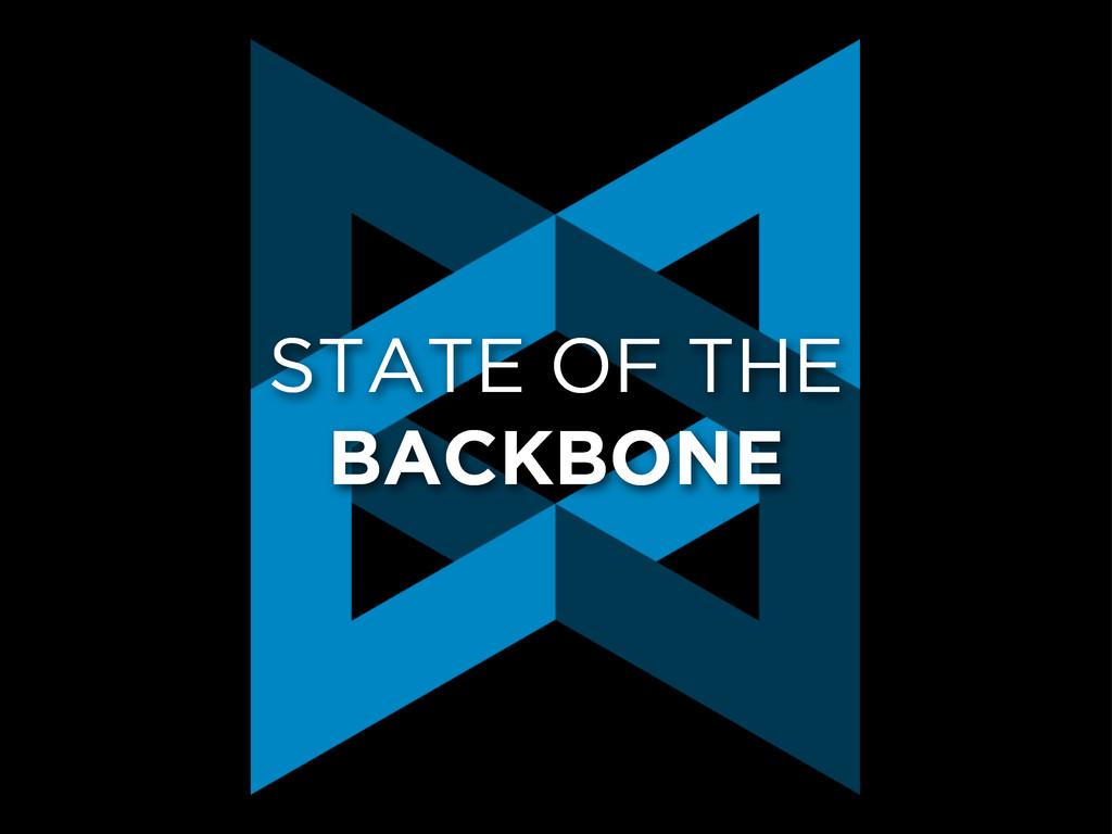 STATE OF THE BACKBONE