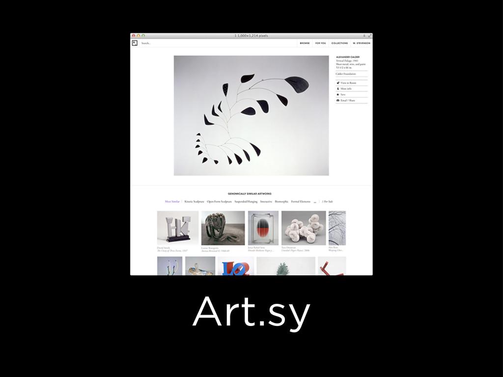 Art.sy