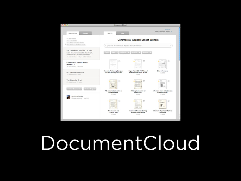 DocumentCloud