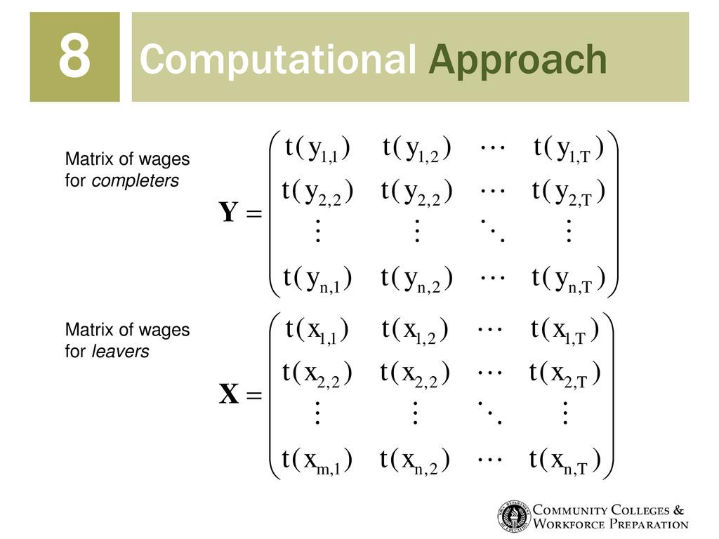 Computational Approach 8            ...