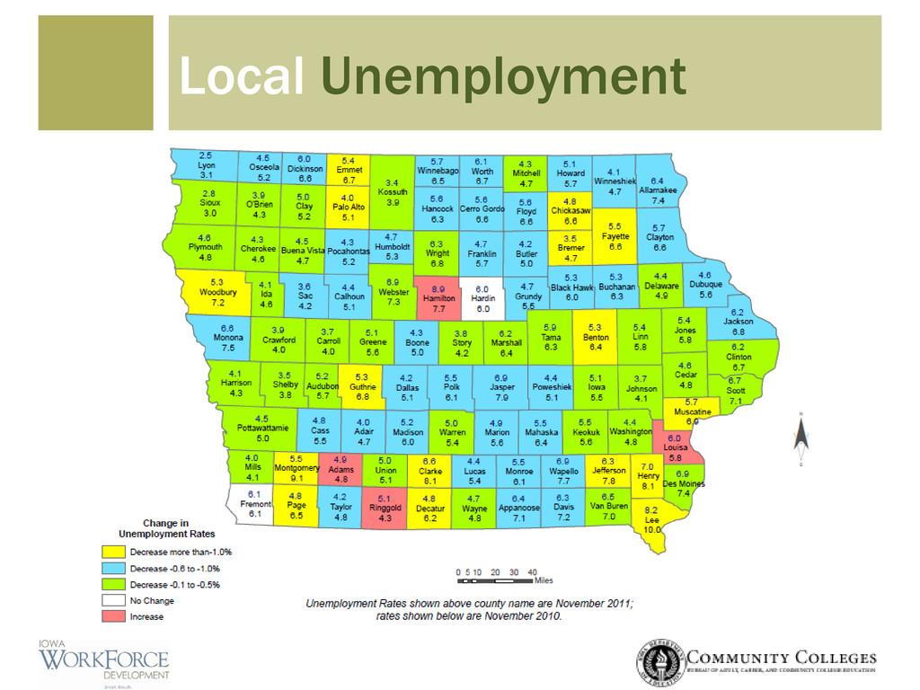 Local Unemployment