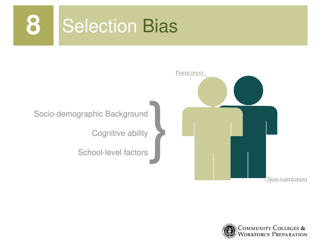 Selection Bias 8 Socio-demographic Background C...