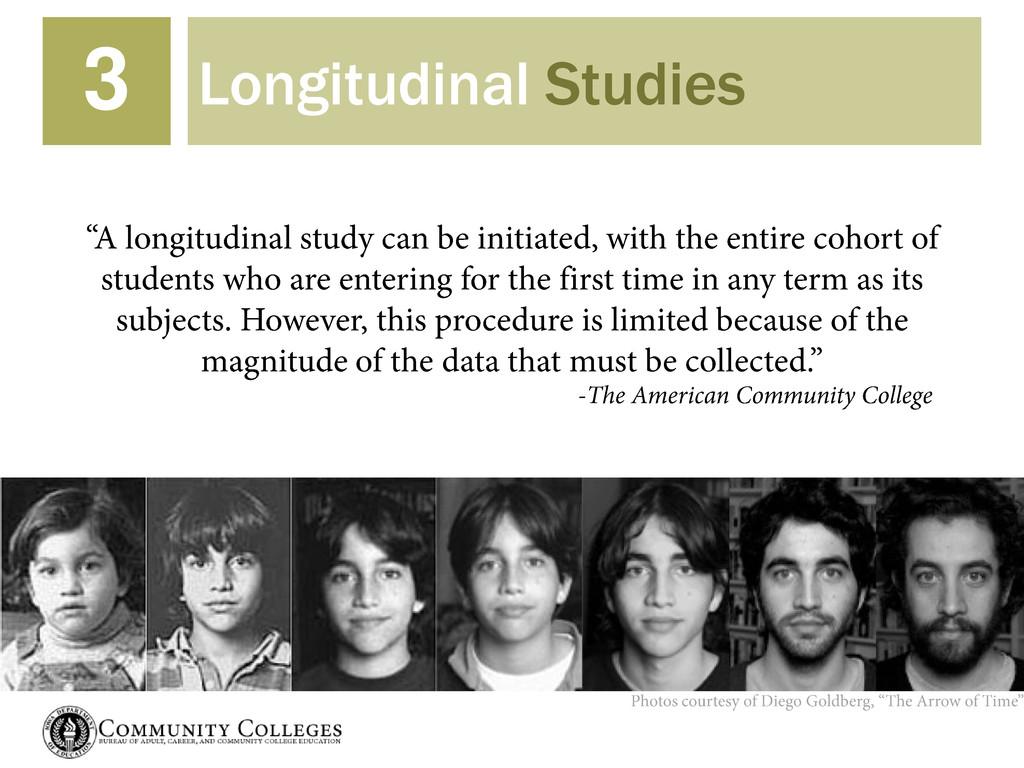 Longitudinal Studies 3