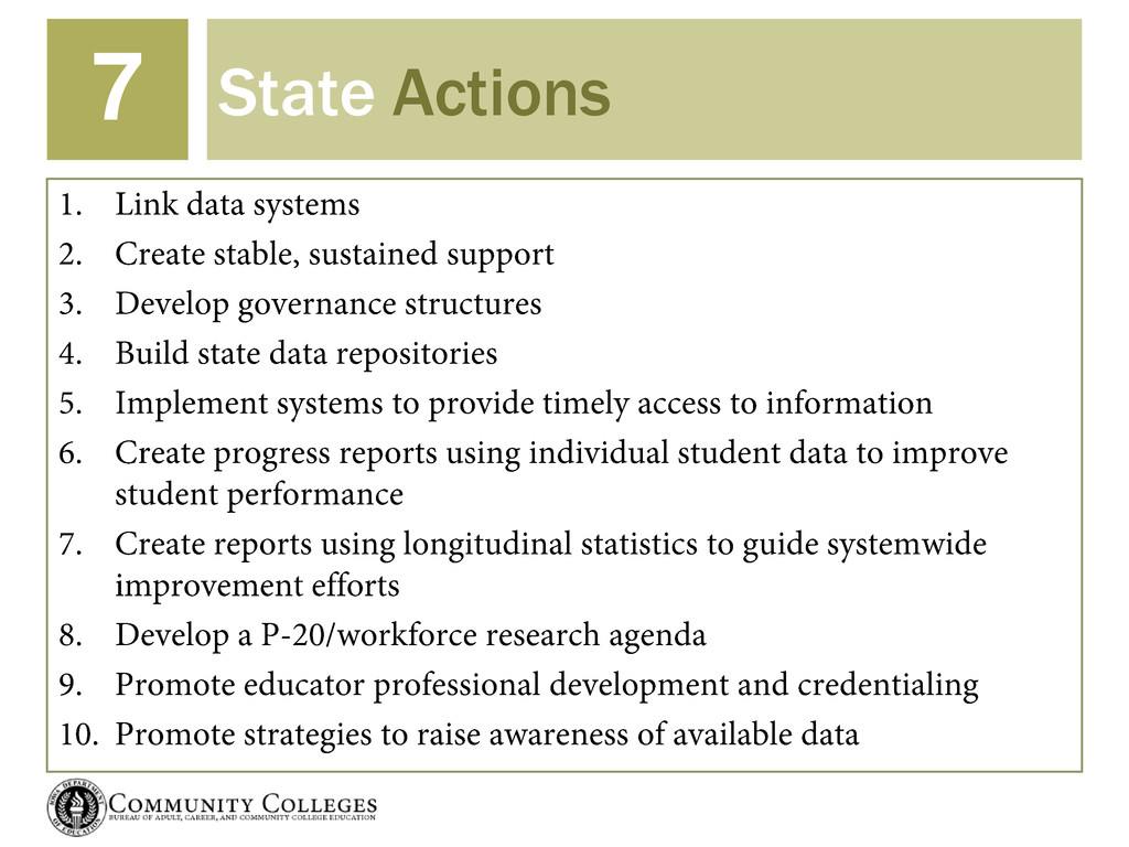 State Actions 7