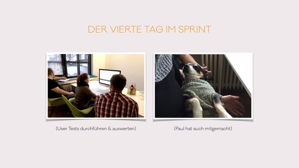 DER VIERTE TAG IM SPRINT (User Tests durchführe...