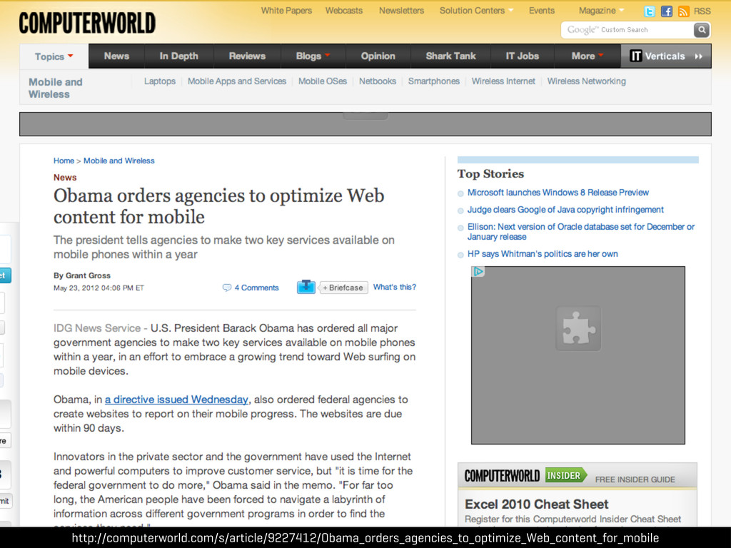 http://computerworld.com/s/article/9227412/Obam...